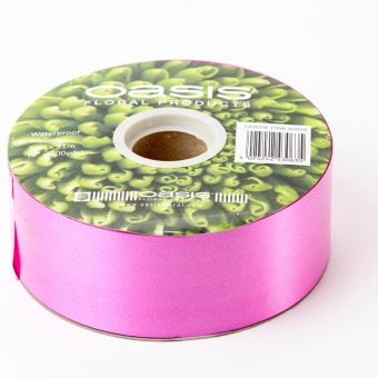 Poly Ribbon - Cerise Pink - 5cm x 91m
