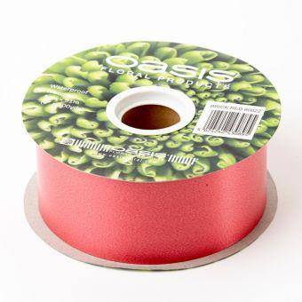 Poly Ribbon - Red - 5cm x 91m