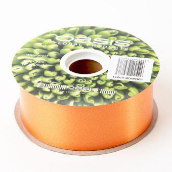 Poly Ribbon - Orange - 5cm x 91m
