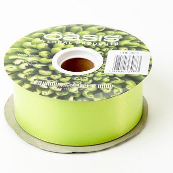 Poly Ribbon - Lime - 5cm x 91m