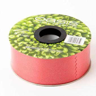Poly Ribbon - Red Brick - 5cm x 91m