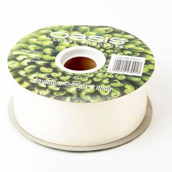 Poly Ribbon - Cream - 5cm x 91m