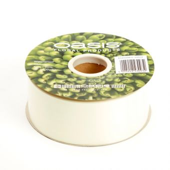 Poly Ribbon - Eggshell - 5cm x 91m