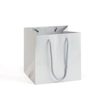 Small Porto Bag - Silver - 18x20cm (Pack of 10)