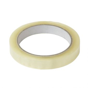Crystal Clear Adhesive Tape - Clear - 15mm x 66m (Pack of 6)