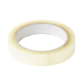 Crystal Clear Adhesive Tape - Clear - 19mm x 66m (Pack of 6)