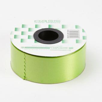 Poly Ribbon - Bright Lime - 5cm x 91m