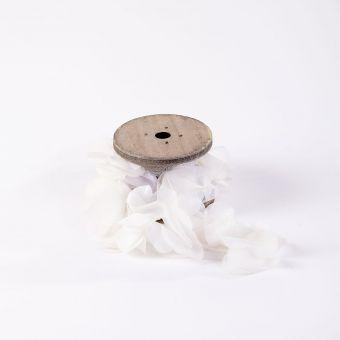 Petal Ribbon - Cream - 75mm x 100cm