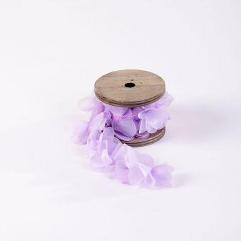 Petal Ribbon - Lilac - 75mm x 100cm