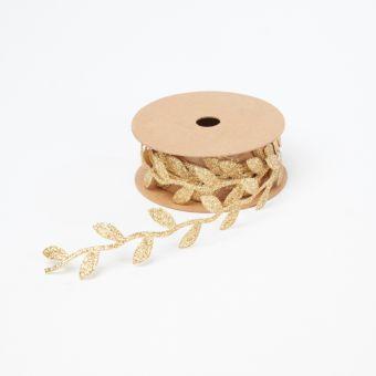 Leafy Ribbon Gold