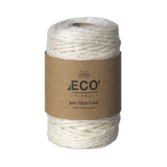 Jute Fibre Cord (50m) - Cream