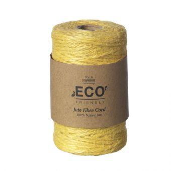 Jute Fibre Cord (50m) - Mustard