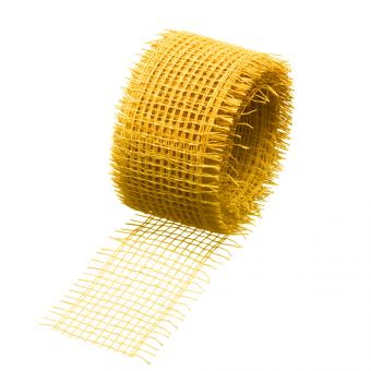 Jute Fibre Ribbon - Mustard