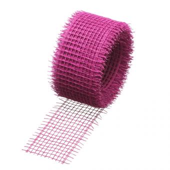 Jute Fibre Ribbon - Pink