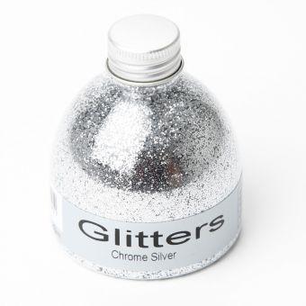 Flower Glitter - Chrome Silver - 150ml