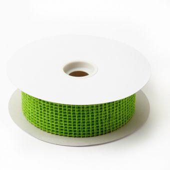 Jute Ribbon - Apple Green - 5cm x 20m