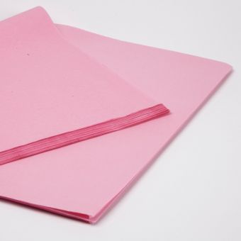 Pink Tissue Paper Sheets (Pack of 240)