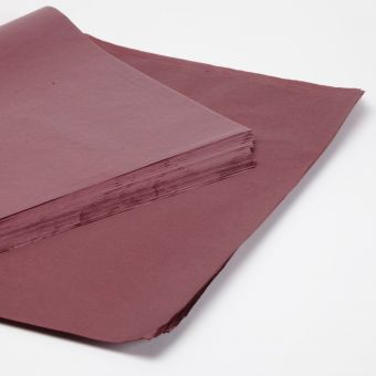 Burgundy Tissue Paper Sheets (Pack of 240)