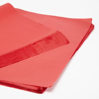 Scarlet Tissue Paper Sheets (Pack of 240)