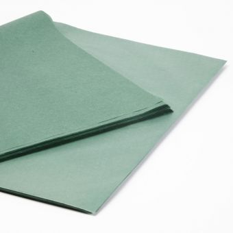 Bottle Green Tissue Paper Sheets (Pack of 240)