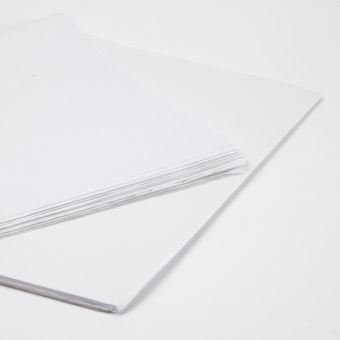 White Tissue Paper Sheets (Pack of 240)