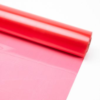 Tinted Film Roll - Red - 38 micron - 80cm x 100m