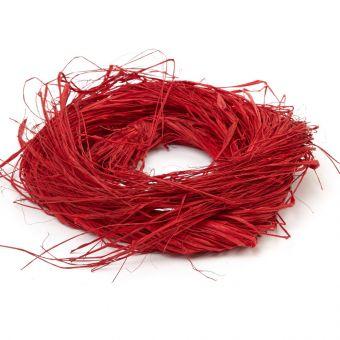 Raffia - Red - 150g