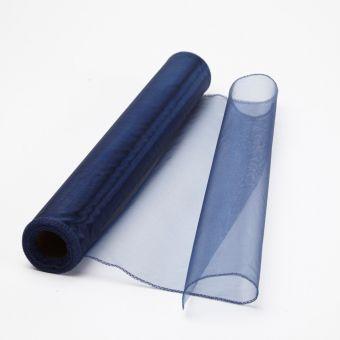 Organza Fabric - Midnight Blue - 40cm x 9m