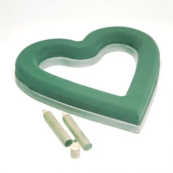 OASIS® Ideal Floral Foam Maxlife Open Heart with Ecobase  - 40cm (Pack of 2)