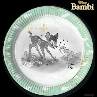 Disney Bambi Paper Plates