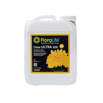 Floralife® Clear ULTRA 200 Storage & Transportation Concentrated Treatment 5L