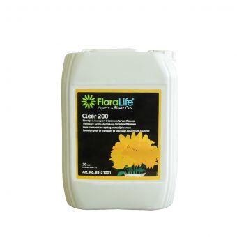 Floralife® Clear 200 Storage & Transportation Treatment 20L