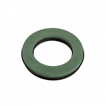 OASIS® Ideal Floral Foam Maxlife with NAYLORBASE® Ring - Green - 31cm