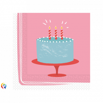 Birthday Cake paper Napkins