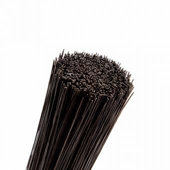 Stub Wire - Black - 50cm x 1.8mm (2.5kg Pack)