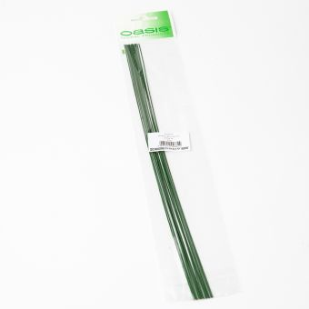 Pre Packed Green Stub Wire - 35cm x 0.90mm x 25g (10 Packs)
