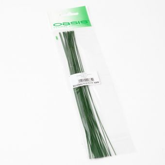 Pre Packed Stub Wire - Green - 25cm x 0.71mm x 25g