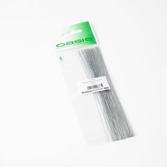 Pre Packed Stub Wire - Silver - 18cm x 0.32mm x 15g