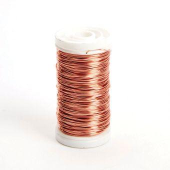 Metallic Wire - Copper - 0.50mm x 100g, approx 50m