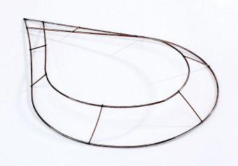 Raised Wire Chaplets - 38 x 27cm