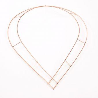 Raised Wire Chaplets - 46 x 29cm