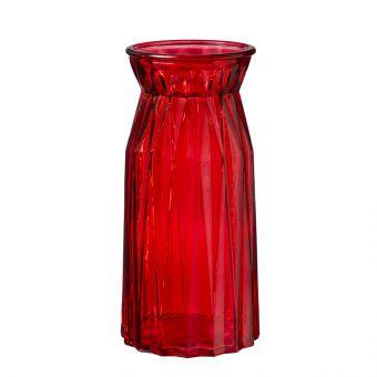 Sadie Vase - Red - 24cm