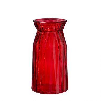 Sadie Vase - Red - 20cm