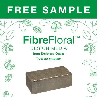 FibreFloral™ Design Media from Smithers-Oasis - SAMPLE BRICK