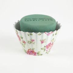 OASIS® Ideal Floral Foam Maxlife Cupcakes - Large Rose - 12cm (Pack of 6)
