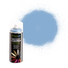 FloraLife® Aqua Colors Metallic Blue Spray Paint 400ml