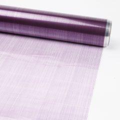 Printed Film Roll Hessian - Purple - 38 micron - 80cm x 100m