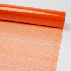 Printed Film Roll Hessian - Orange - 38 micron - 80cm x 100m