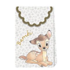Disney Bambi Collection Paper Bags (Pack of 6)